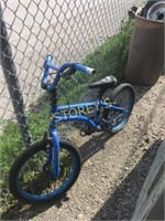 Blue Kids Bike - as is