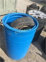 Blue Drum & Tires
