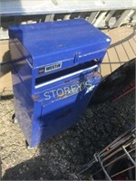 Blue Westin Tool Chest on Wheels