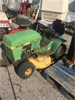 John Deere Lawn Mower- Unknown Condition