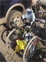 Hand Made Wheel Chair- Unknown Condition