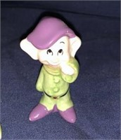 Snow White And Dwarf Figurines