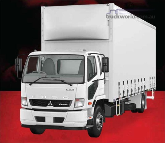 Fuso Fighter 4x2 1627 Built Ready 12 Pallet Curtainsider Air Susp. XXLWB 6 Sp. Manual