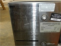 Grindmaster 190 Coffee Grinder & Bunn Server Stand