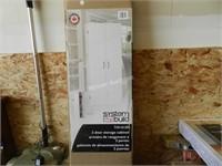System Build 2 Door Storage Cabinet