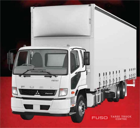 Fuso Fighter 6X2 2427 Built Ready 14 Pallet Curtainsider Air Susp. XXLWB 9 Sp. Manual
