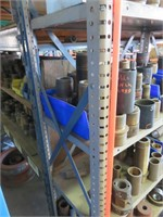 Large Lot of Brass Fittings Including Shelving