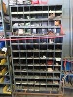 Assorted Bolts, Bolt Storage & More