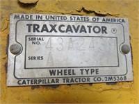 CAT Traxcavator Front End Loader