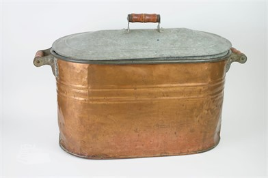 Old Copper Tub Boiler Other Items For Sale In Illinois 1