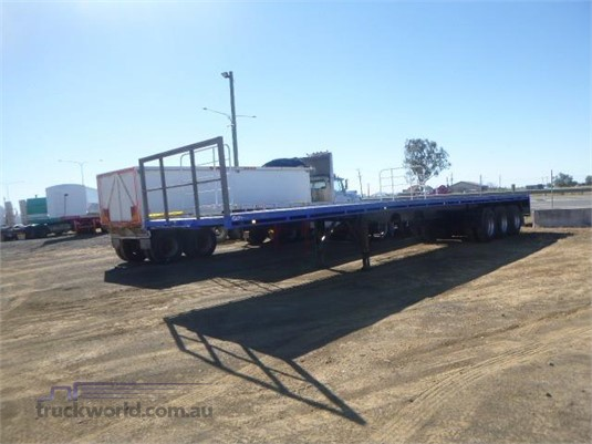 2001 Air Ride Flat Top Trailer - Trailers for Sale