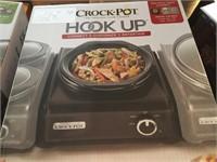 (2) NIB CROCKPOT HOOKUP SLOW COOKER SYSTEM