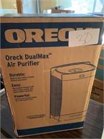 NIB ORECK MODEL 12310 DUAL MAX AIR PURIFIER