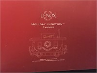 NIB LENOX 3PCHOLIDAY JUNCTION CHRISTMAS TRAIN SET