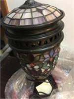 NIB JJ PENG TIFFANY STYLE LAMP