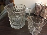 WHITEHALL GLASSWARE SET