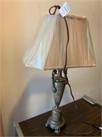 """19"""" MARBLE TABLE LAMP"""
