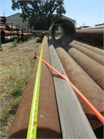 Assorted Used Well Casings & Rack