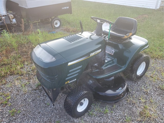 2009 CRAFTSMAN LT1000 For Sale In Columbia City, Indiana
