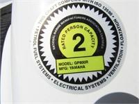 4 Yamaha Waverunners and Custom Trailer
