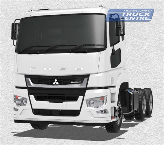 Fuso Shogun 6x4 FV74 455hp High Roof Prime Mover 12 Sp. AMT Air Susp