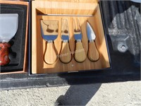 (2) Cheese Knife Sets