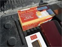 Qty of Bibles, Audio Bible