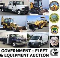 8/22/2019 6pm - Government - Fleet & Equipment Auction