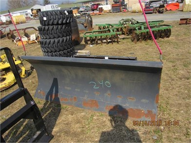 NEW) BOBCAT SKIDSTEER SNOW PLOW Other Items For Sale - 1