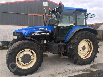 NEW HOLLAND TM150 for sale in the United Kingdom - 8