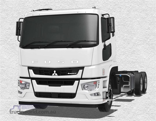 Fuso Shogun 6x4 FV74 455hp MWB 12 Sp. AMT Air Susp