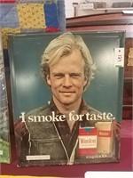 Winston Cigarette Sign