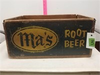 Ma's Root Beer Crate