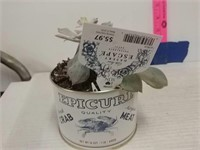 Crabmeat Cans With Plants