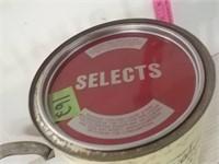 Billups Brand Oyster Can 1 Gallon