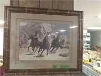 """Western Picture 23"""" X 18 1/2"""""""