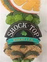 Shock Top Wheat I.P.A. Tap Handle