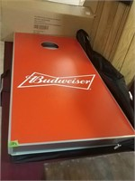 Budweiser Cornhole Game With Carrying Case