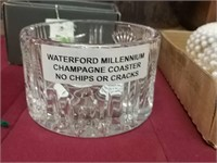Waterford Millenium Champagne Coaster