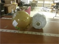 2 Antique Lightning Rod Ball