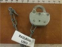 ADLAKE Railroad Lock P C 75