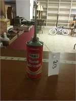 Vintage Texaco Home Lubricant Can 7 1/2 Inches