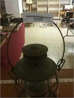 Antique B&O Railroad Lantern