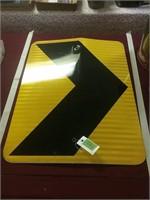 24x18 Road Sign Metal