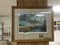Lifting To The North Duck Stamp Ken Zylla