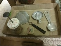 Vintage Ice Cream Scoop Reamer Chopper Lot