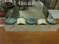 Antique Tin Spice Rack