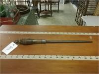 Lee's 2 Wood Handle Antique Tool