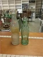 Coca Cola And Nehi Bottle