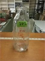 E W Huber Dairy Marticville PA Milk Bottle